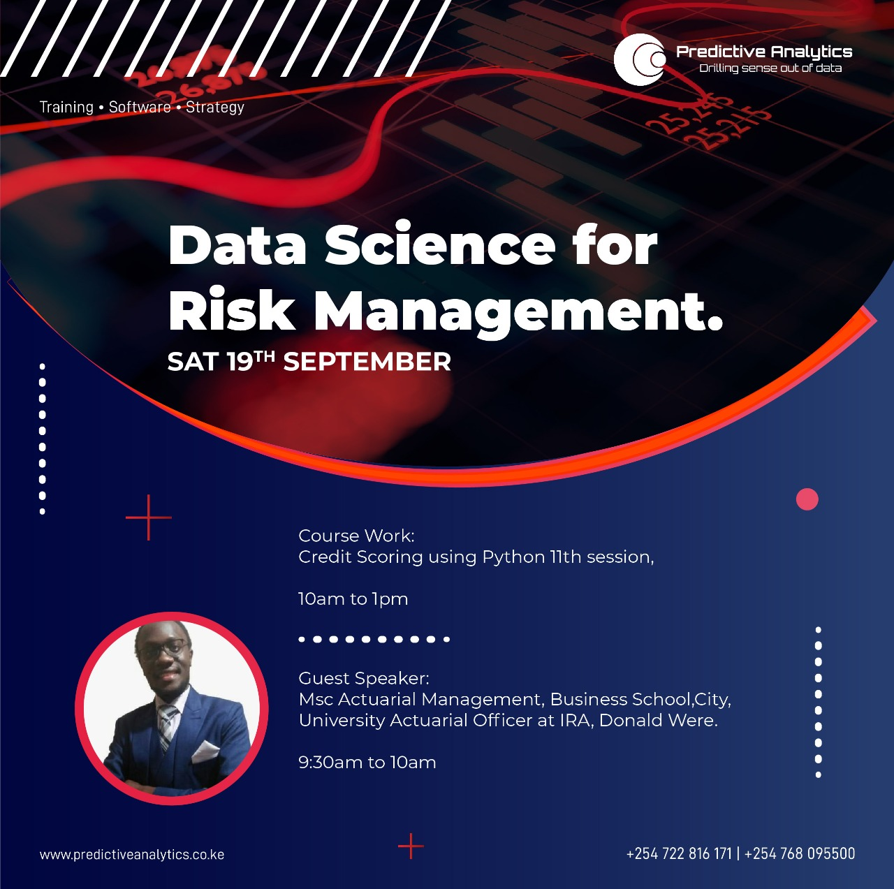 Data Science for Risk Management