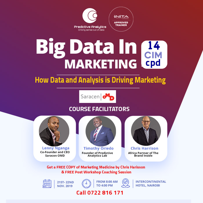 Big Data In Marketing Masterclass