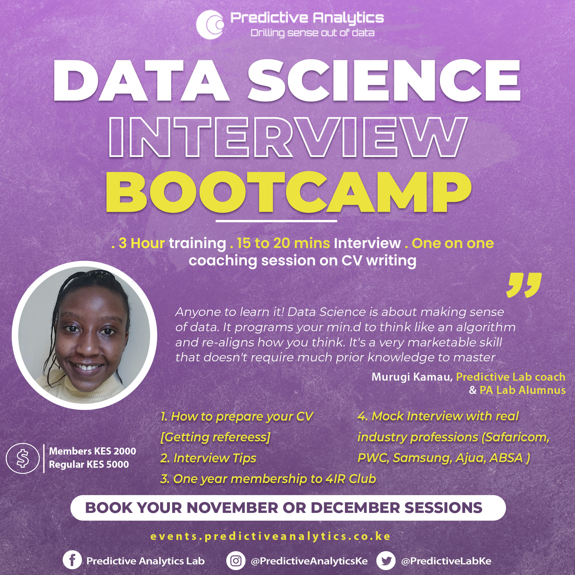 Data Science Interview Bootcamp